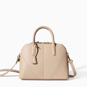 Zara mini city bag with shoulder strap